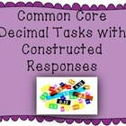 Common Core Decimal Tasks