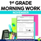 Common Core Differentiated Morning Work for November
