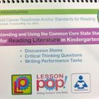 Common Core Discussion Stems for Kindergarten