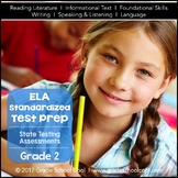 Common Core ELA Assessments Grade 2 (ALL STANDARDS PACK)