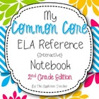 Common Core ELA Reference Notebook for Teachers {2nd Grade}