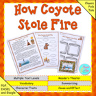 "Common Core Fables and Folktale ""How Coyote Stole Fire"" 2n"