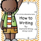 Common Core - How to Writing