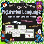 Common Core: Figurative Language Task/Scoot Cards with Posters