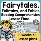 Common Core Folktales, Fairytales, Fables, Oh My! Unit of