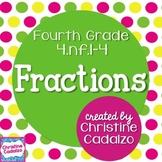 Common Core Fractions Lesson Plan Unit- 4th Grade