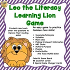 Common Core Game!  Leo the Literacy Lion!  Great for SAT 1