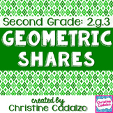 Common Core Geometry- Second Grade 2.G.3