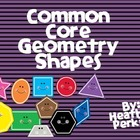 Common Core Geometry Shapes