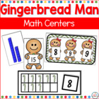 Common Core Gingerbread and More Math Centers
