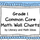 Common Core Grade 1 Math Wall Charts