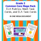 Common Core Grade 2 Mega Pack