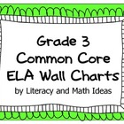 Common Core Grade 3 Wall Charts