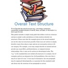 Common Core Grade 4 Reading Informational Guide RI.4.5 Tex