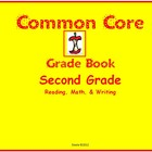 Common Core Gradebook for Second Grade
