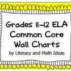 Common Core Grades 11-12 ELA Wall Charts