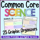 Common Core Graphic Organizers Science and Technical Grades 6-12