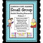 Common Core Guided Reading Resouce Guide - Volume 1