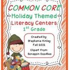 Common Core Holiday Literacy Centers