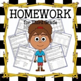Common Core Homework for Third Grade