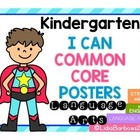 Common Core I Can posters in English- What's YOUR super power?