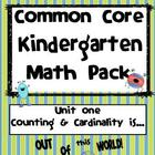 Counting and Cardinality is Out of this World! Common Core