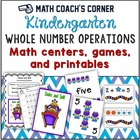 Common Core: Kindergarten Whole Number Operations