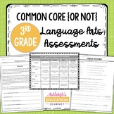 Common Core Language Arts Assessments for Third Grade