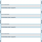 Common Core Lesson Plan Template 5th-RLA with 3 drop-downs