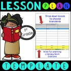 Common Core Lesson Plan Template With Drop Down Boxes 1st Grade