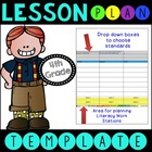 Common Core Lesson Plan Template With Drop Down Boxes 4th