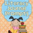Common Core Literacy Journal Prompts - Volume One