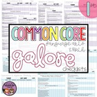 Common Core MATH and ELA Galore {1st Grade Checklist}