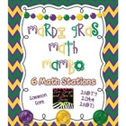 Common Core Mardi Gras Math Mambo