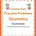 Common Core Math 4th Grade Geometry Practice Problems