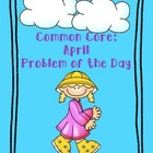 Common Core Math: April Problem of the Day