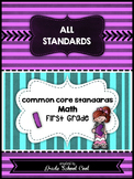 Common Core Math Assessments Grade 1 (ALL STANDARDS PACK)