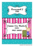 Common Core Math Assessments Grade 1 (Measurement & Data)