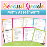 Common Core Math Assessments Grade 2
