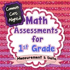 Common Core Math Assessments for 1st Grade - Measurement a