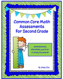 Common Core Math Assessments for Second Grade