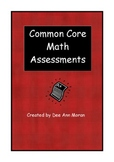 Common Core Math Assessments