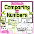 Common Core Math Centers: Comparing Numbers