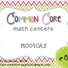 Common Core Math Centers: Patterns {MCC4.OA.5}