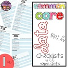 Common Core Math Data Checklist {1st Grade}