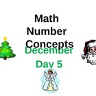 Common Core Math December Base Ten FREEBIE