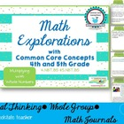 Common Core Math Explorations: Multiplication NBT4.5 NBT5.5