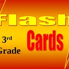 3rd Grade Math Common Core Flash Card Set