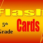 5th Grade Math Common Core Flash Card Set