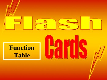 Common Core Math Flash Cards 6th grade 6EE9